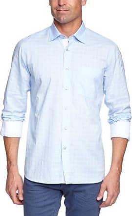 173513107-681, Camisa Casual para Hombre, Azul (Strong Blue 681), 44(Talla del Fabricante: Large) Signum