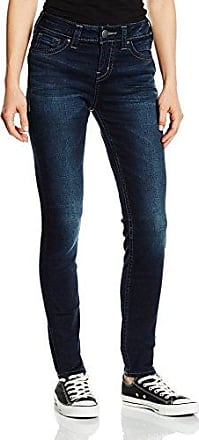 Silver Jeans Co Suki High Super Skinny-Azul Mujer Blau (Rinse 413) 34
