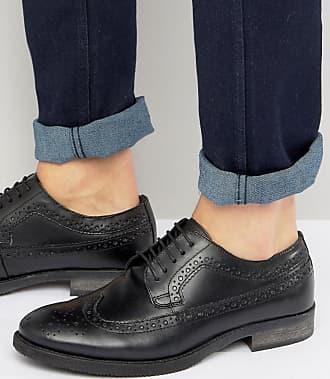 Zapatos Monk negros de Silver Street Silver Street London