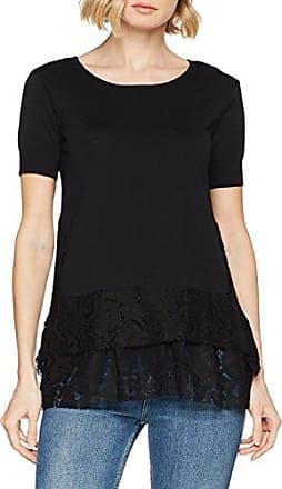 Silvian Heach Varziulo, Camiseta para Mujer, Negro (Nero Black), 34