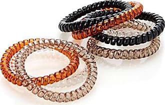 Simons Autumn spiral elastics Set of 8