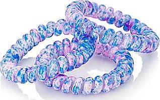 Simons Colour flecks spiral elastics Set of 3