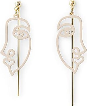 Simons Cubist sketch earrings