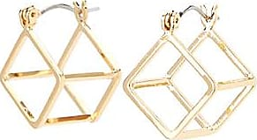 Simons Double-sided cube earrings