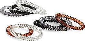 Simons Mesh pompom elastics Set of 3