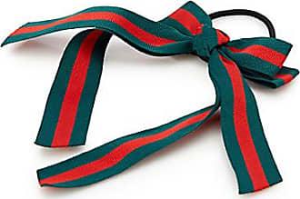 Simons Striped ribbon bow elastic