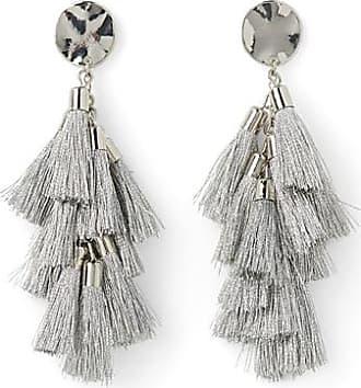 Simons Swinging tassel earrings