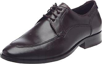 Sioux - Zapatos clásicos de cuero para hombre, color marrón, talla 38.5