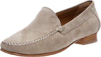 Carvela Charlie - Zapatos sin Cordones de Cuero Mujer, Color Gris, Talla 36