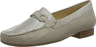 SiouxColina-151 - Mocasines Mujer, Color Blanco, Talla 38