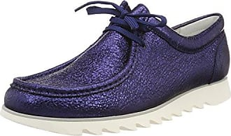 Sioux Grash-D172-29, Zapatillas para Mujer, Blau (Jeans-Silver), 40.5 EU