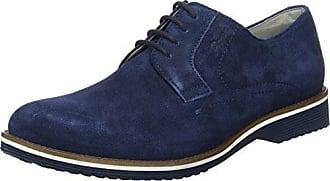 Sioux Emre, Zapatos de Cordones Derby para Hombre, Azul-Blau (Night), 41 EU