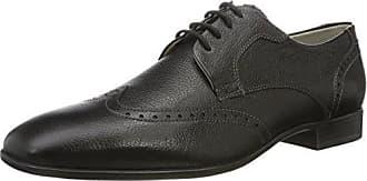 Sioux 28270 - Zapatos de cordones, color Schwarz/Schwarz, talla 42