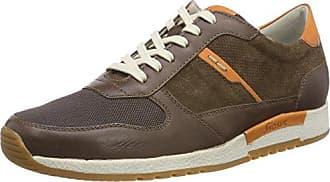 Sioux Rodon, Sneaker Uomo, Marrone (Carafe/Orange-Kombi 009), 41 EU