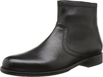 Sioux Nathaniel, Zapatos de Cordones Derby para Hombre, Negro (Schwarz 000), 41 EU