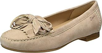 Sioux Zilly, Mocasines para Mujer, Marfil (Shell 009), 36 EU