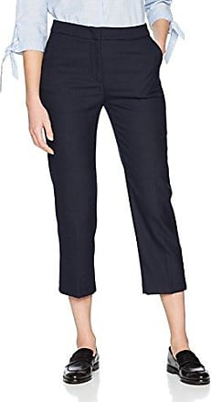 Elvi The Ola Fold Frill Hem Cropped Trousers In Brushed Jersey, Pantalones para Mujer, Gris (Grey 001), W36