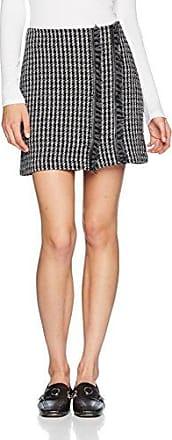 Sisley Mini Skirt, Falda para Mujer, Multicolor (Black Multi 902), Small (Talla del Fabricante: 42)