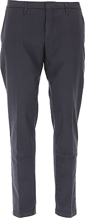Pants for Men On Sale, Navy Blue, Cotton, 2017, 31 34 38 Siviglia