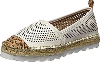 Sixtyseven 77924 - Zapatos de Vestir para Mujer, Color Oro/Blanco, Talla 38