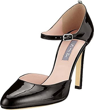 Lina, Mary Jane para Mujer, Negro (Black Lame Fabric), 40.5 EU SJP by Sarah Jessica Parker