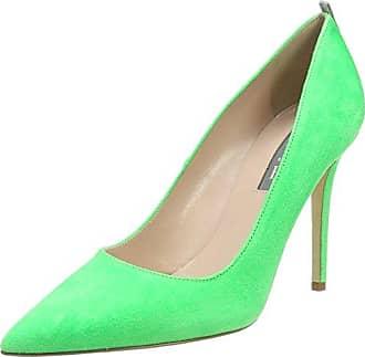 SJP by Sarah Jessica Parker Katrina Cap, Zapatos de Tacón para Mujer, Gris (Adara Suede/Galileo Red Suede), 40 EU