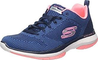 Skechers Burst TR-Coram, Zapatillas para Hombre, Azul (NVY), 42 EU