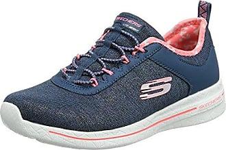 Skechers Empire, Entrenadores para Mujer, Azul (Navy), 37 EU