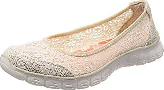 Skechers Damen Ez Flex 3.0 Beautify Geschlossene Ballerinas Rose  36 EUSchwarz (Black)