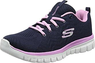 Shape Ups - Liv Go Spacey, Chaussures tonifiantes femme - Gris (Lghp), 35 EU (2 UK) (5 US)Skechers