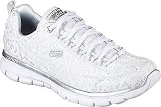 Skechers Damen Sneaker Synergy Silky Sweet Weiß, Schuhgröße:EUR 37
