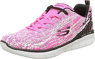 Skechers Synergy 2.0-High Spirits, Zapatillas para Mujer, Varios Colores (Hot Pink/Multicolour), 40 EU