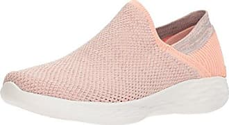 You-Rise, Zapatillas Sin Cordones Para Mujer, Varios Colores (Peach), 37.5 EU Skechers