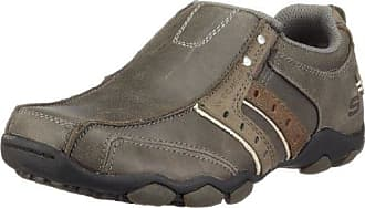 Diameter, Chaussures de ville homme - Gris (Char), 45 EU (10 UK) (11 US)Skechers