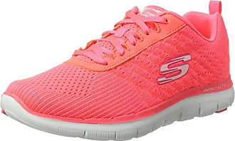 Go Run 600-Revel, Zapatillas Deportivas para Interior para Mujer, Rosa (Pink), 40 EU Skechers