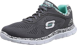 Zapatos negros Skechers Flex Appeal para mujer lSFMcf