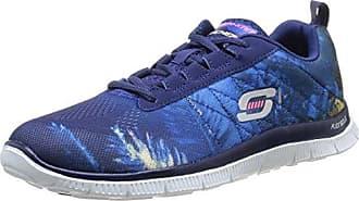 Skechers Damen Flex Appeal Sweet Spot Sneaker Pink Purple  36 EUBlau (Blhp)