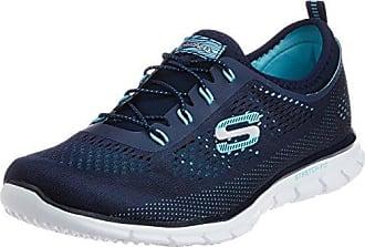 Skechers Gratis-Light-Heart, Sneaker Infilare Donna, Blu (Navy), 36 EU