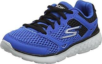 Skechers GO Crawl 90126N - Zapatillas para jovenes, color azul, talla 19 (3 US)