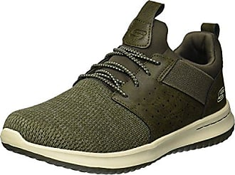 Supra 08203, Sneaker Uomo, Verde (Verde (Olive/White-Black 350)), 38.5 EU