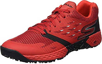 Skechers Performance Go Run 400-Disperse, Chaussures Multisport Outdoor Homme, Rouge (Red), 47 EU
