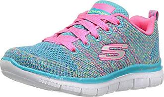 Skechers Skech-Air-Star Jumper, Zapatillas para Niñas, Varios Colores (Lavender/Pink), 32 EU