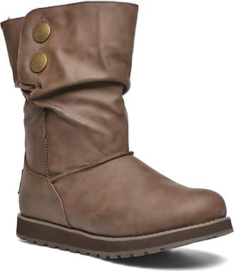 Skechers Damen Keepsakes Leather-Esque Schlupfstiefel, Grau (Ccl), 37 EU