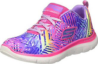 Skechers Galaxy Lights, Zapatillas para Niñas, Varios Colores (Purple/Multicolour), 34 EU