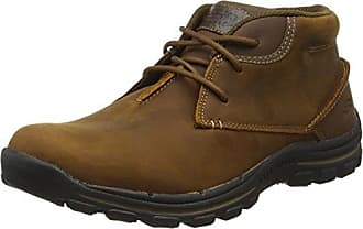 Skechers SegmentGundy, Boots homme - Marron (Brn), 41 EU
