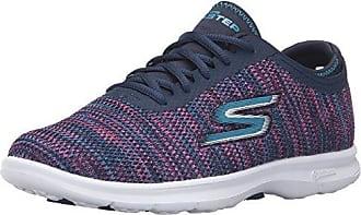 Skechers Damen Go Step Sneaker  36 EUMarineblau/Koralle