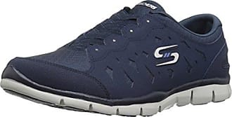 Skechers Damen Gratis-Light-Heart Slip on Sneaker, Blau (Navy), 35 EU