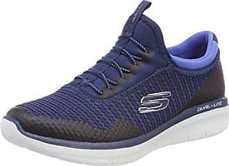 Skechers Go Walk Lite, Zapatillas Sin Cordones Para Mujer, Azul (Navy), 35.5 EU
