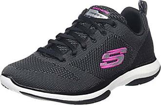 Studio Burst Edgy Damen Slip On Sneakers Schwarz / Anthrazit 5.5
