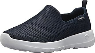 Skechers Go Walk Joy, Baskets Enfiler Femme, Bleu (Navy/White), 39 EU